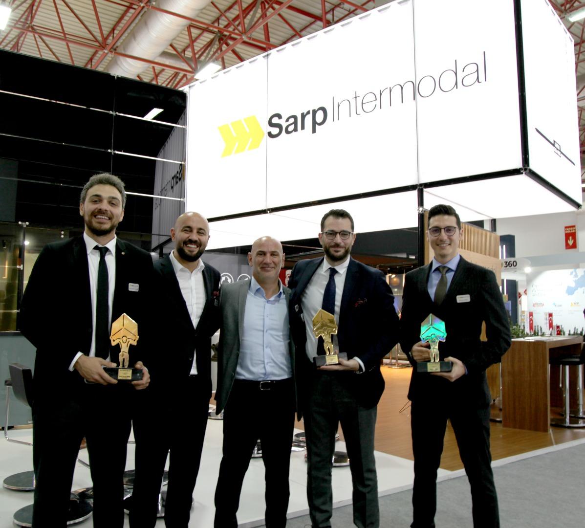 Sarp Intermodal 3 kategoride Atlas Ödül'ü aldı