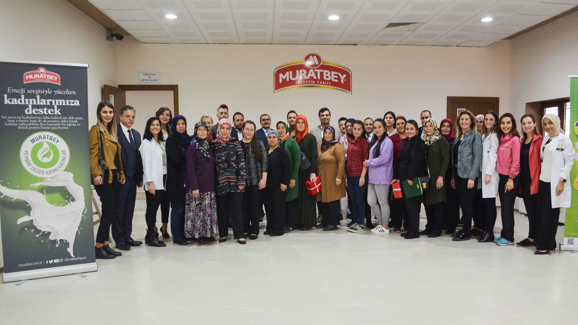Süt Muratbey ile değerleniyor kadınlar güç kazanıyor
