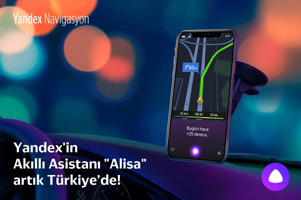 """Yandex'in Akıllı Asistanı """"Alisa"""" Türkiye'de"""