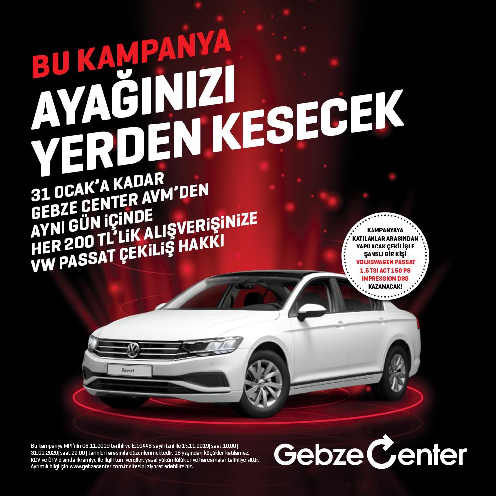 Gebze Center AVM'den efsane kampanya