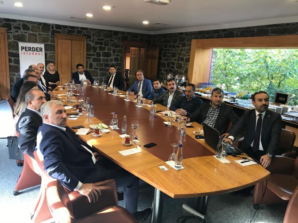 AYNES yöneticilerinden İstanbul PERDER'e ziyaret