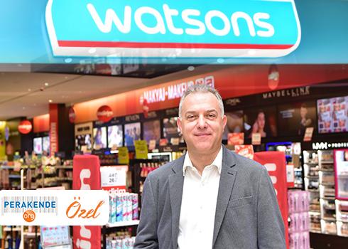 Watsons'ın hedefi online'da %100 büyüme
