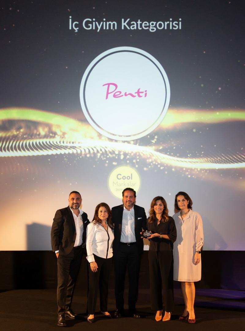 İç giyim devi Penti Türkiye'nin en cool markası seçildi