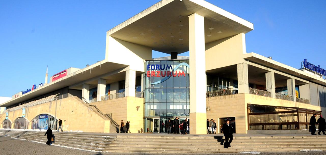 Ara tatil eğlencesi Forum Erzurum'da