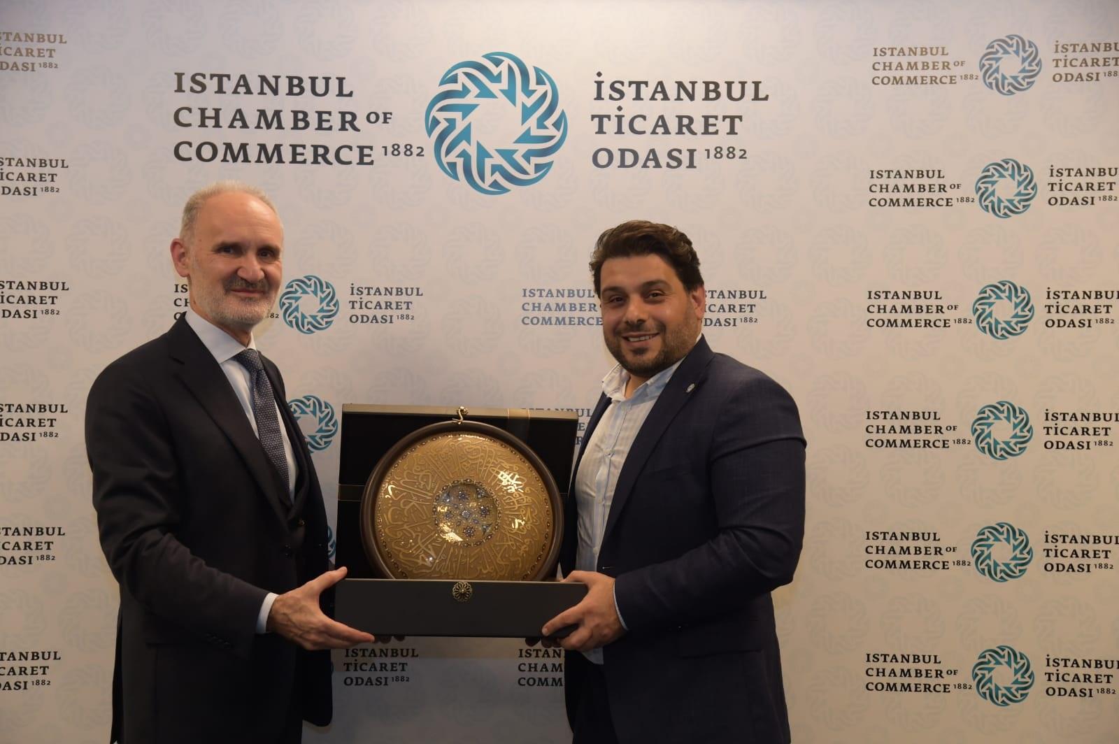 İstanbul PERDER Yönetim Kurulu Üyeleri İTO'da