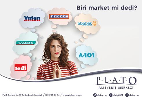 """Plato Alışveriş Merkezi """"Biri market mi dedi"""""""