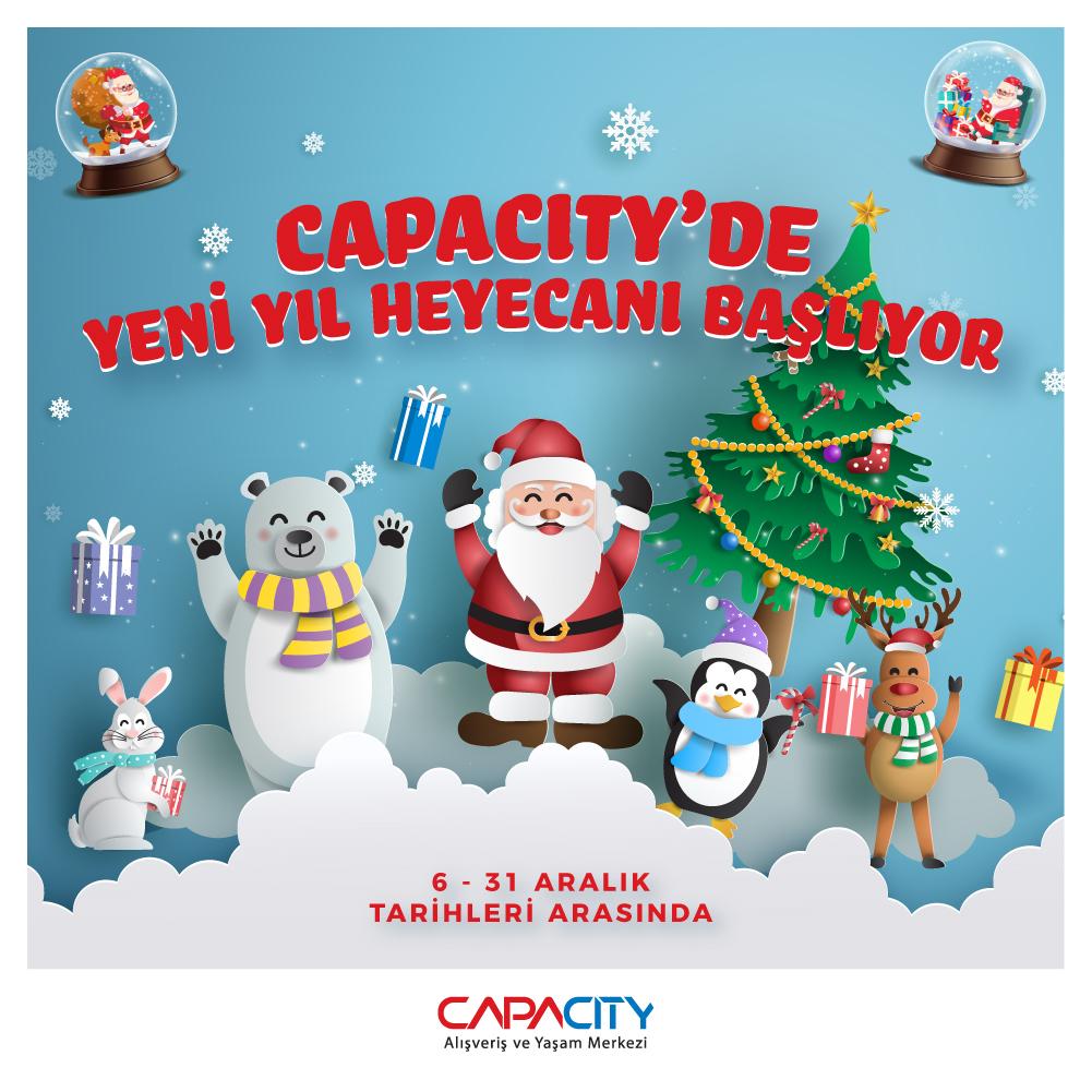 Capacity'de yeni yıl heyecanı başlıyor