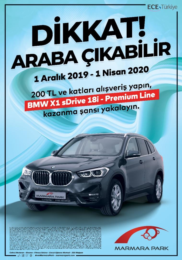 Marmara Park'tan büyük hediye BMW X1 sDrive