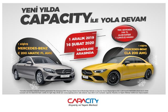 Capacity'nin yeni yıl kampanyası için geri sayım başladı