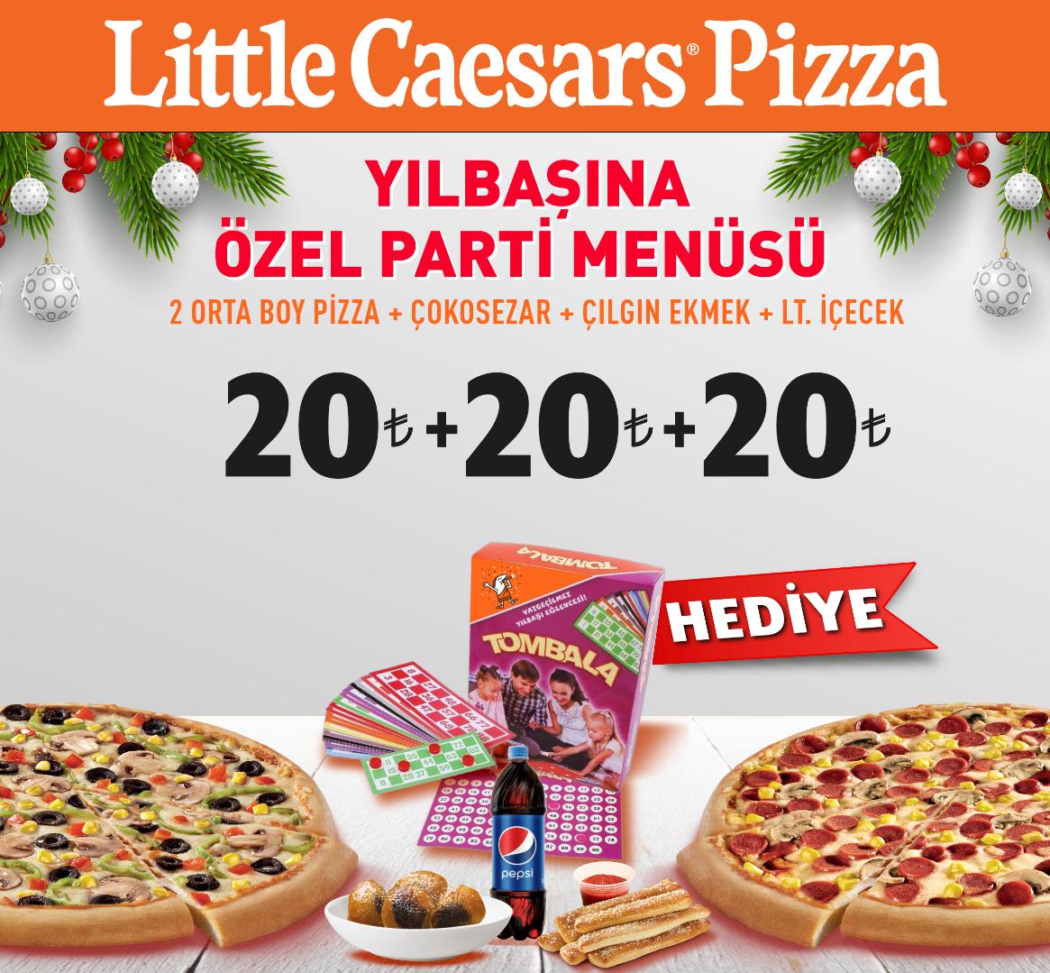Little Caesars ile 2020'ye lezzetli başlangıç
