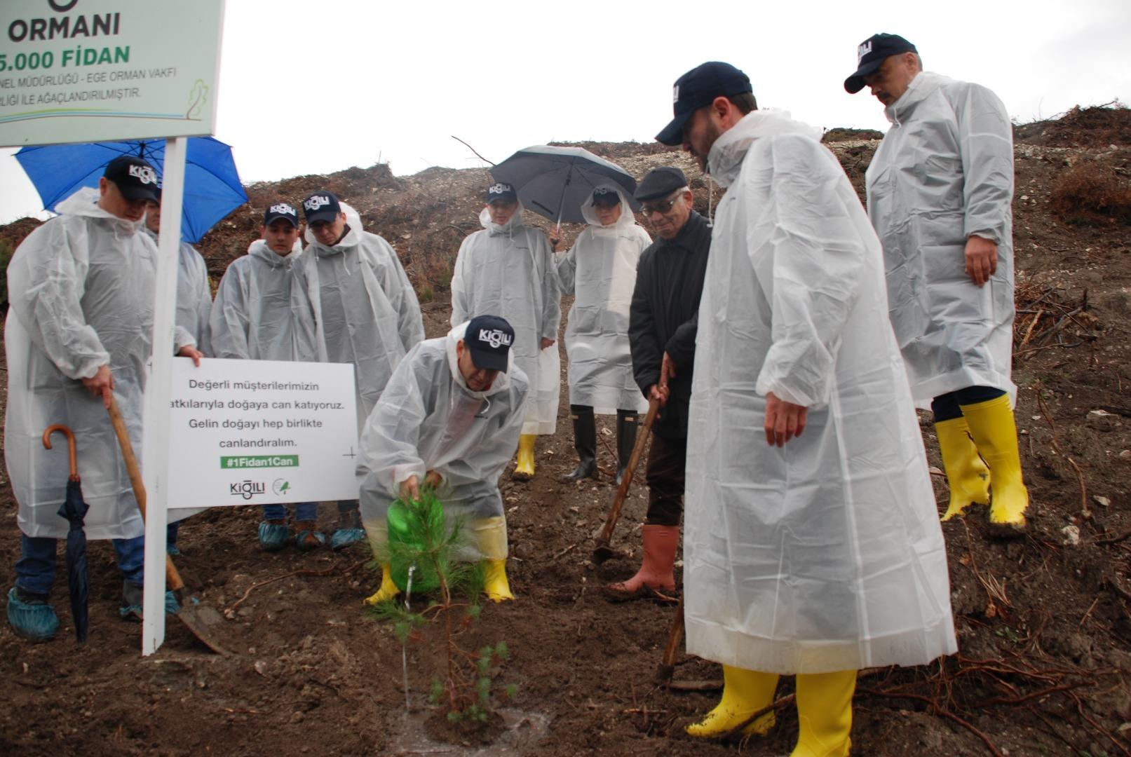 Kiğılı Ormanı İzmir'de hayata geçti