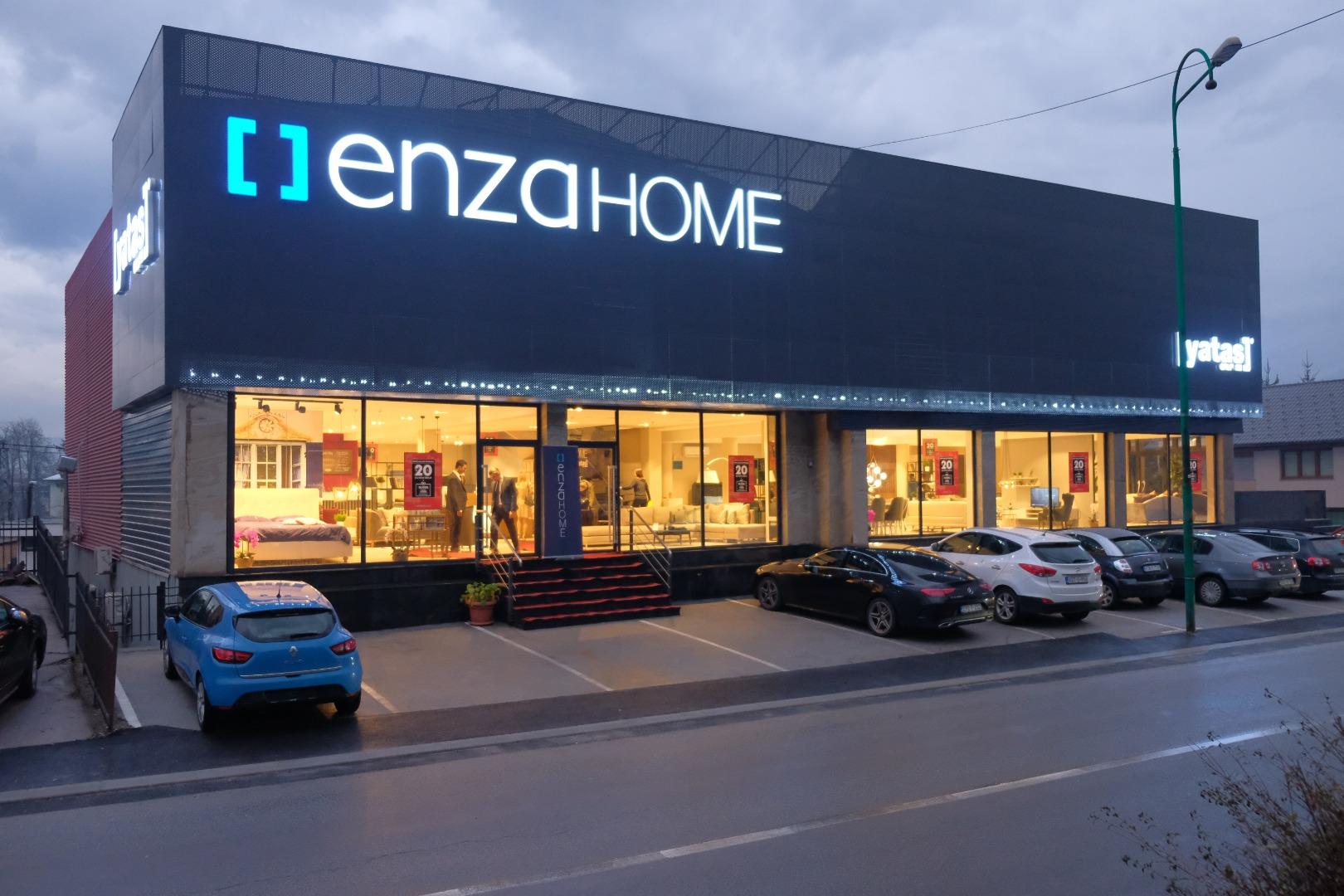 Yataş Grup Saraybosna'da ilk Enza Home mağazasını açtı