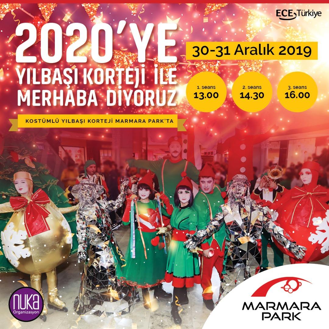 Eğlence dolu yılbaşı sürprizleri Marmara Park AVM'de