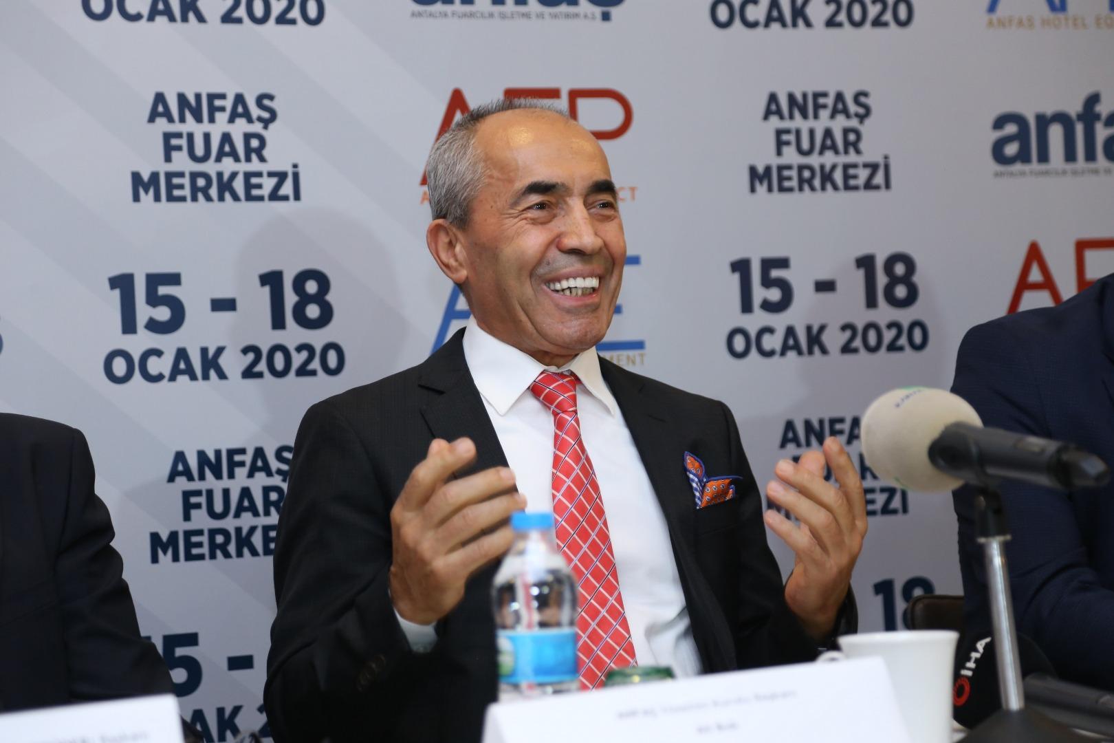 HORECA'nın hedefi 2020'de 3,5 milyar dolar