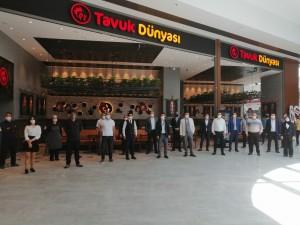 Tavuk Dünyası Ankara'daki 15. şubesini açtı