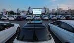 CarrefourSA'dan arabalı açık hava sineması