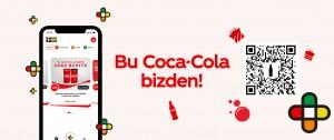 'Bu Coca-Cola Bizden' kampanyası ile 1.5 milyon kişiye hediye