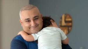 ebebek'ten her anın değerini bilen babalara özel reklam
