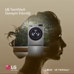 LG TwinWash deneyim etkinliğine 10 bin kişi katıldı