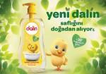 Yeni Dalin bebek şampuanı saflığını doğadan alıyor