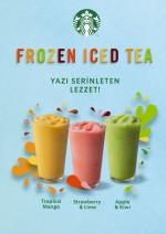 Starbucks, Frozen Iced Tea ile yazı başlatıyor