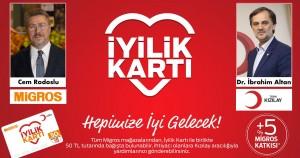 Migros ve Türk Kızılay'dan  Büyük İyilik Hareketi