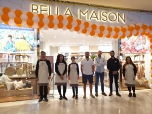 Bella Maison'ın yeni mağazası Midtown Bodrum'da