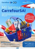 CarrefourSA Temmuz'da da Mil kazandırıyor