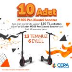 CEPA'dan scooter kazanma şansı