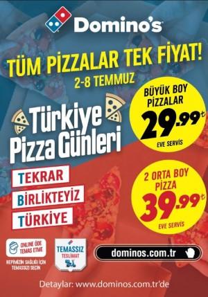 Dominos 'Türkiye Pizza Günleri' kampanyası