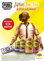 Lipton Ice Tea & PUBG MOBILE kampanyası kazandırıyor