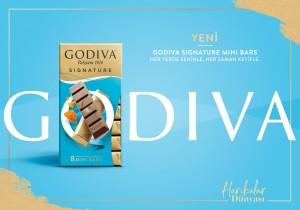 Godiva'dan yepyeni̇ lezzet: Signature Mini Bars