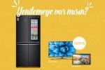 LG InstaView buzdolabı alana, LG akıllı TV hediye
