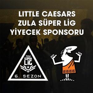 Little Caesars, Zula Süper Lig'in yeniden yiyecek sponsoru
