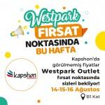 Westpark Outlet fırsat noktasının bu haftaki yıldızı kapshon