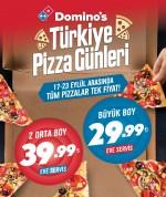 Domino's Türkiye Pizza Günleri'nde birbirinden leziz fırsatlar