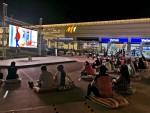 M1 Adana'da yıldızların altında sinema keyfi