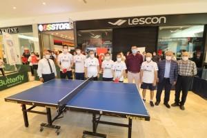 M1 Adana'da, masa tenisi etkinliği