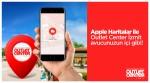 Outlet Center İzmit Google haritalardan sonra Apple Haritalar'da
