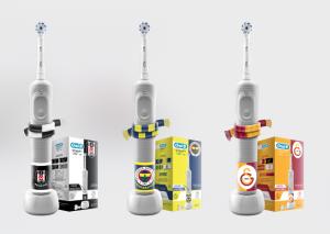Oral-B D100 Vitality taraftar özel serisi ile takımına destek ol
