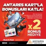 Antares Kart'la bonusları katla