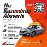 Türkiye'de bir ilk mobil uygulama üzerinden araç kampanyası