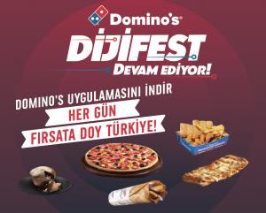 Domino's internete özel fırsatlarla dolu Dijifest'i başladı