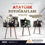 29 Ekim'e özel Atatürk fotoğrafları sergisi Antares'te