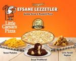 Little Caesars 4 yeni lezzetiyle Nefis Cuma'ya hazır