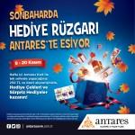 Sonbaharda hediye rüzgârı Antares'te esiyor