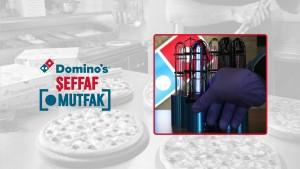 Domino's'un 'Şeffaf Mutfak'ında  tüm süreç gözler önünde
