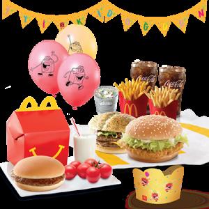McDonald's'tan doğum gününü evde geçiren çocuklara sürpriz