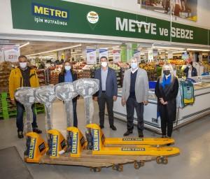 Metro Türkiye üreticiye ve yerel ekonomiye katkı sağlıyor