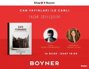 Boyner, Can Yayınları iş birliğiyle ağızları tatlandıracak online söyleşiler